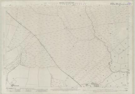 Somerset LVI.1 (includes: Exmoor; North Molton) - 25 Inch Map