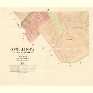 Ostralhota (Kamenalhota) - m2194-1-003 - Kaiserpflichtexemplar der Landkarten des stabilen Katasters