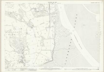 Lancashire XVI.12 (includes: Lower Allithwaite; Ulverston; Urswick) - 25 Inch Map