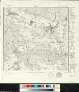 Meßtischblatt 2036 : Ziesar, 1927