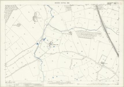 Hertfordshire XL.7 (includes: North Mimms; South Mimms) - 25 Inch Map