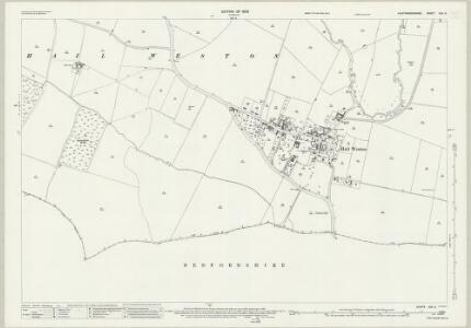 Huntingdonshire XXV.6 (includes: Eaton Socon; Hail Weston; Little Paxton) - 25 Inch Map