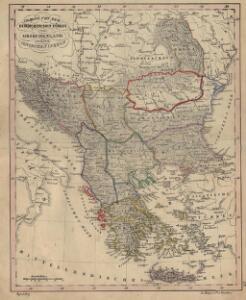 Charte von der europaeischen Tuerkey von Griechenland und den Ionischen Inseln