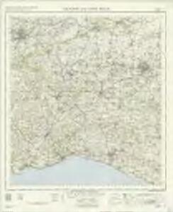 Taunton and Lyme Regis - OS One-Inch Map