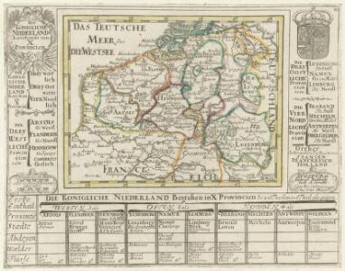 Die Königliche Niederland Bestehende inn X. Provincien