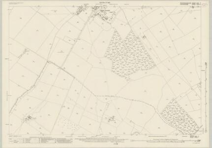 Buckinghamshire XXVI.7 (includes: Arncott; Boarstall) - 25 Inch Map