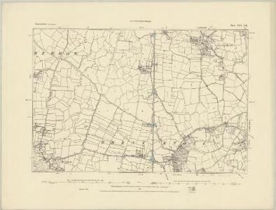 Somerset XXV.NW - OS Six-Inch Map