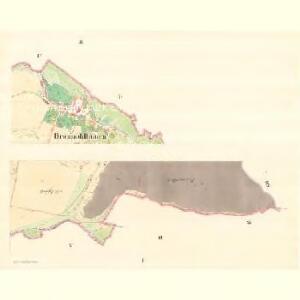 Braunöhlhütten (Wranowalhotta) - m3472-1-001 - Kaiserpflichtexemplar der Landkarten des stabilen Katasters