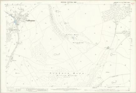 Hampshire and Isle of Wight XCIV.11 (includes: Brixton; Calbourne; Newport; Shorwell) - 25 Inch Map