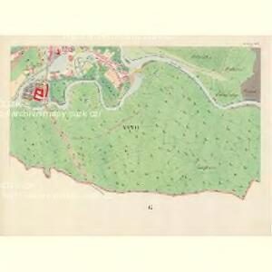 Göding (Hodonin) - m0741-1-029 - Kaiserpflichtexemplar der Landkarten des stabilen Katasters