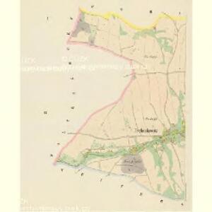 Tschenkowitz (Czenkowice) - c0848-1-001 - Kaiserpflichtexemplar der Landkarten des stabilen Katasters
