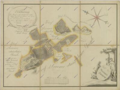 Mapa pozemků dvora Zborov-parerga 1