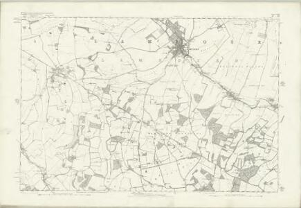 Wiltshire XVI - OS Six-Inch Map