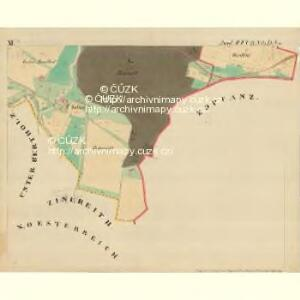 Piesling - m2287-1-012 - Kaiserpflichtexemplar der Landkarten des stabilen Katasters