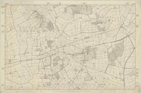 Yorkshire 208 - OS Six-Inch Map
