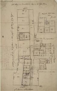 Plan of the Thatched House in St. James's Street 25-A