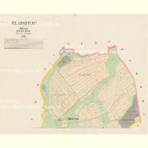 Glasserau - c6932-1-001 - Kaiserpflichtexemplar der Landkarten des stabilen Katasters