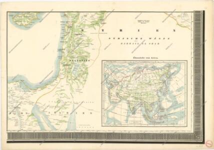 General - Karte von Europa mit Klein - Asien und dem nördlichen Afrika