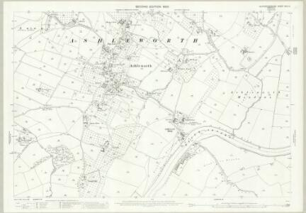 Gloucestershire XVIII.14 (includes: Ashleworth; Hartpury; Hasfield; Maisemore; Sandhurst) - 25 Inch Map