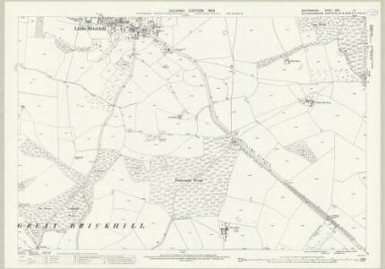 Bedfordshire XXIV.10 (includes: Great Brickhill; Little Brickhill; Soulbury; Woburn) - 25 Inch Map