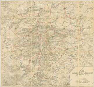 Přesná nivelace Velké Prahy s okolím : [přehled nivelačních tratí a osazených výškových bodů]