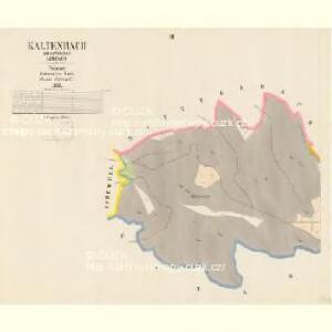 Kaltenbach - c7509-2-002 - Kaiserpflichtexemplar der Landkarten des stabilen Katasters