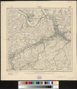 Meßtischblatt 2652 : Hagen in Westfalen, 1907
