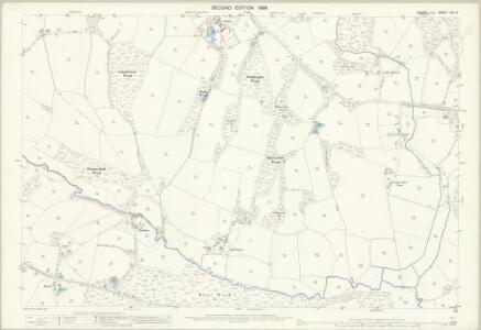 Sussex XXX.2 (includes: Etchingham; Ticehurst) - 25 Inch Map