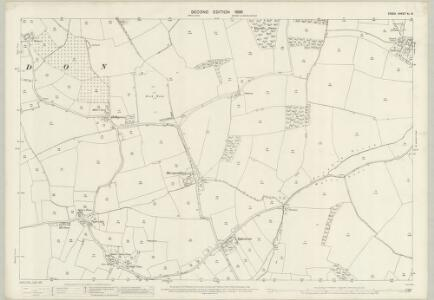 Essex (1st Ed/Rev 1862-96) XL.16 (includes: Great Parndon; Roydon) - 25 Inch Map