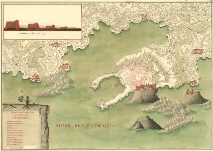 Desegno de la Forteza di Porto Re in Liburnia
