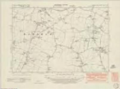 Sussex LXXIII.NW - OS Six-Inch Map