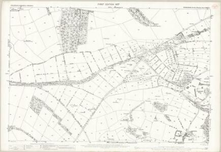 Derbyshire XXVIII.6 (includes: Middleton and Smerrill; Monyash; Youlgreave) - 25 Inch Map