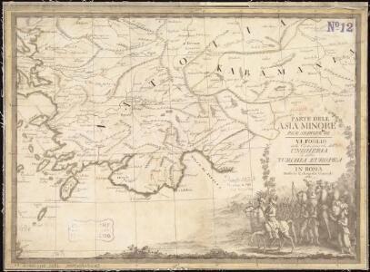 Parte dell'Asia Minore per servire di VI foglio della carta generale dell'Ungheria e della Turchia Europea
