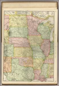 Commercial Map, Chicago to Denver.