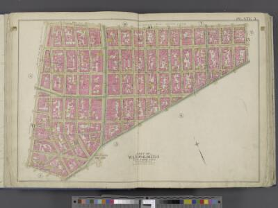 Manhattan, Double Page Plate No. 5 [Map bounded by Broome St., Division St., Pearl St., Centre St.]