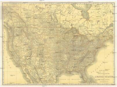 Rand McNally new official railroad map of the United States and southern Canada