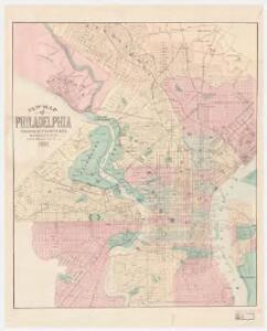 New map of Philadelphia