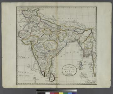 An accurate map of Hindostan or India, from the best authorities.