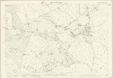 Staffordshire XXII.12 (includes: Ashley; Eccleshall; Mucklestone) - 25 Inch Map