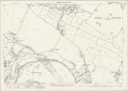 Buckinghamshire LVI.6 (includes: Datchet; Eton; New Windsor; Slough) - 25 Inch Map