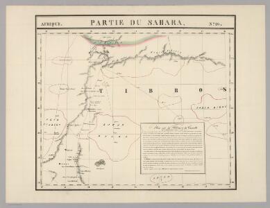 Partie du Sahara. Afrique 16.