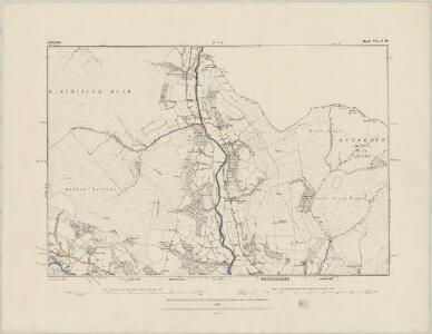 Derbyshire VII.SE - OS Six-Inch Map