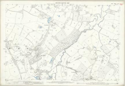 Kent LXII.9 (includes: Goudhurst; Horsmonden) - 25 Inch Map