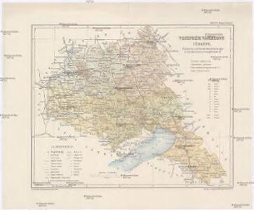 Veszprém vármegye térképe