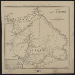 Carte du Haut-Dahomey
