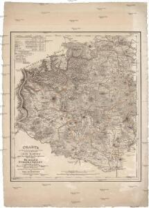 Charte zur Übersicht der im Leitmeritzer Kreise gelegenen Herrschaft Böhm. Kamnitz