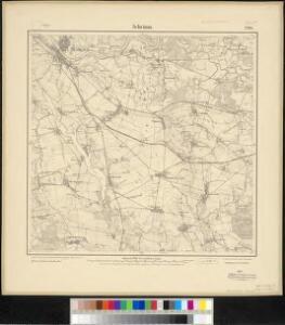 Meßtischblatt 2200 : Schrimm, 1911