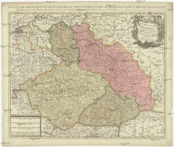 Estats de la couronne de Boheme, ou sont le royaume de Boheme, le duché de Silesie, les marquisats de Moraviae et Lusace