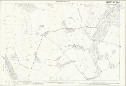 Staffordshire XXVIII.6 (includes: Cheswardine; Sutton Upon Tern; Tyrley) - 25 Inch Map