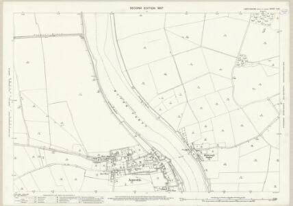 Lincolnshire X.10 (includes: Amcotts; Flixborough) - 25 Inch Map